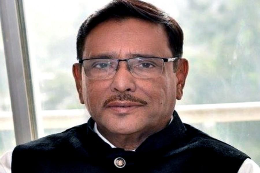 Quader says BNP gets weaker for negative politics