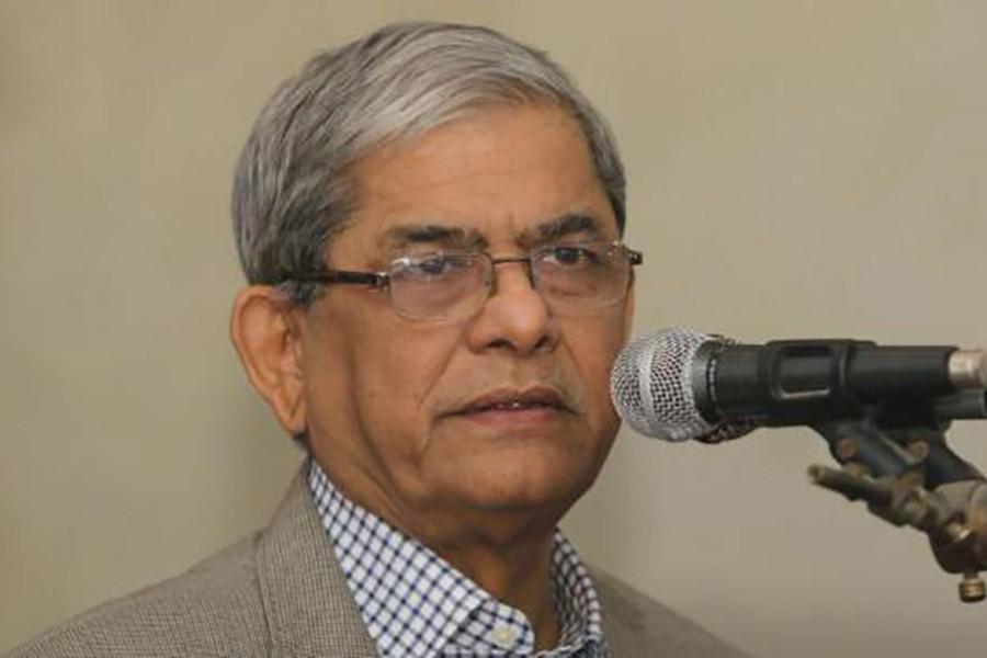 Stay alert against propaganda: Fakhrul to BNP followers