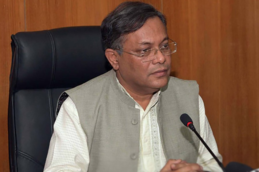 BNP trying to politicise Khaleda's health issue: Hasan Mahmud