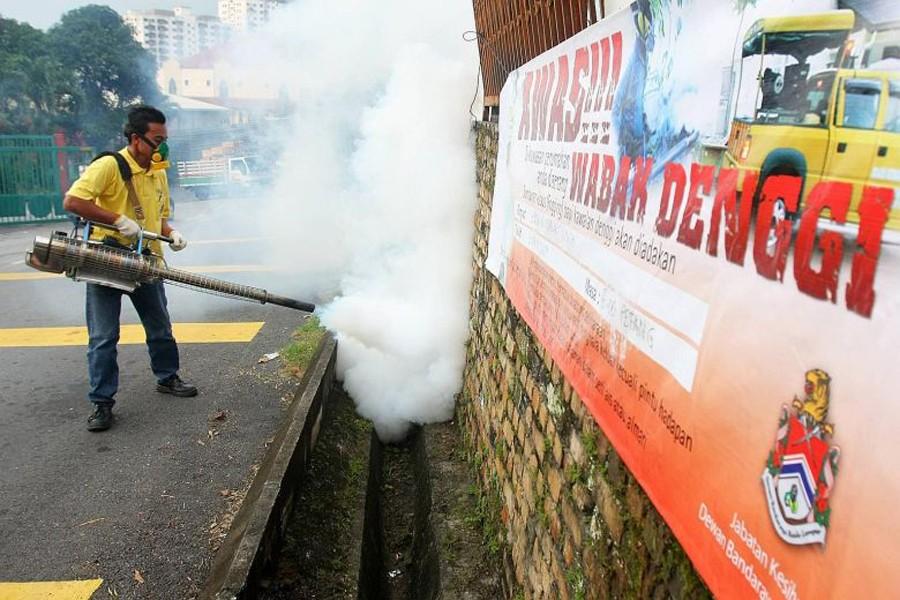 Dengue cases in Malaysia climb to nearly 80,000