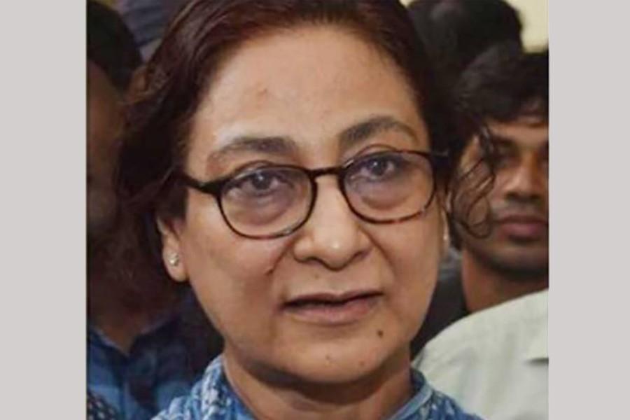 BNP nominates Rita Rahman for Rangpur-3 by-polls