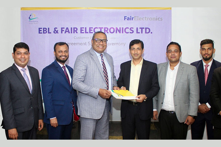 EBL home loan clients to enjoy special privileges from Samsung