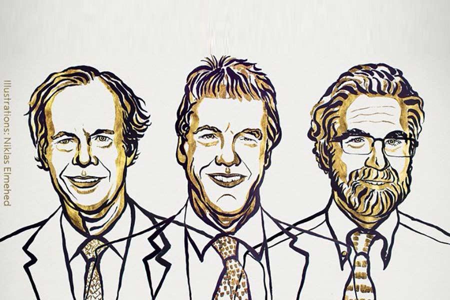 William Kaelin, Peter Ratcliffe and Gregg Semenza