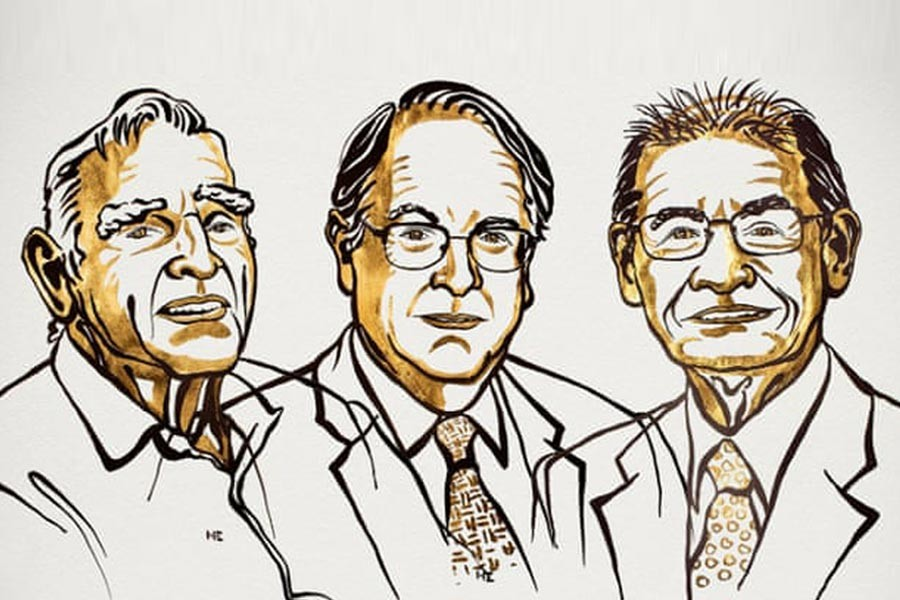 John B Goodenough, M Stanley Whittingham and Akira Yoshino