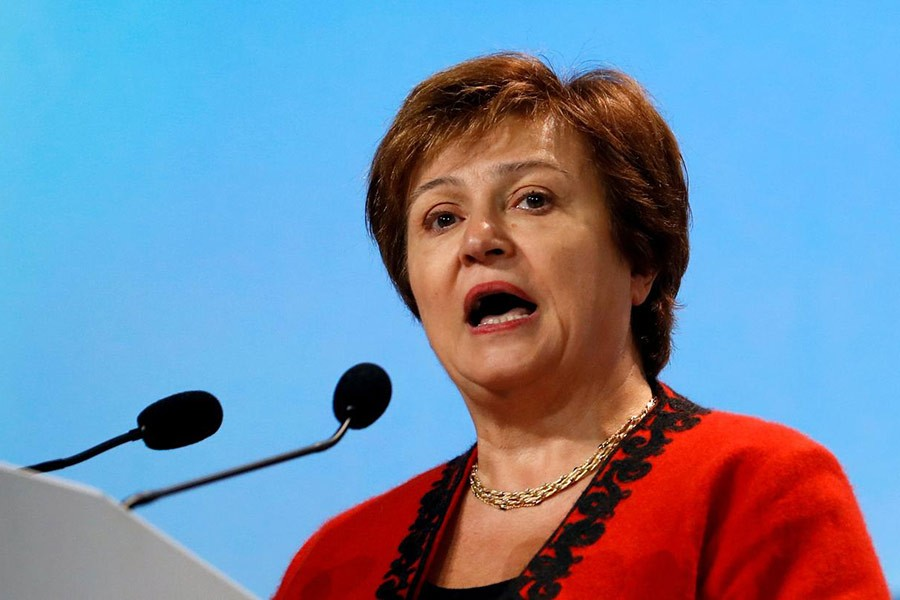 Kristalina Georgieva     -Reuters file photo
