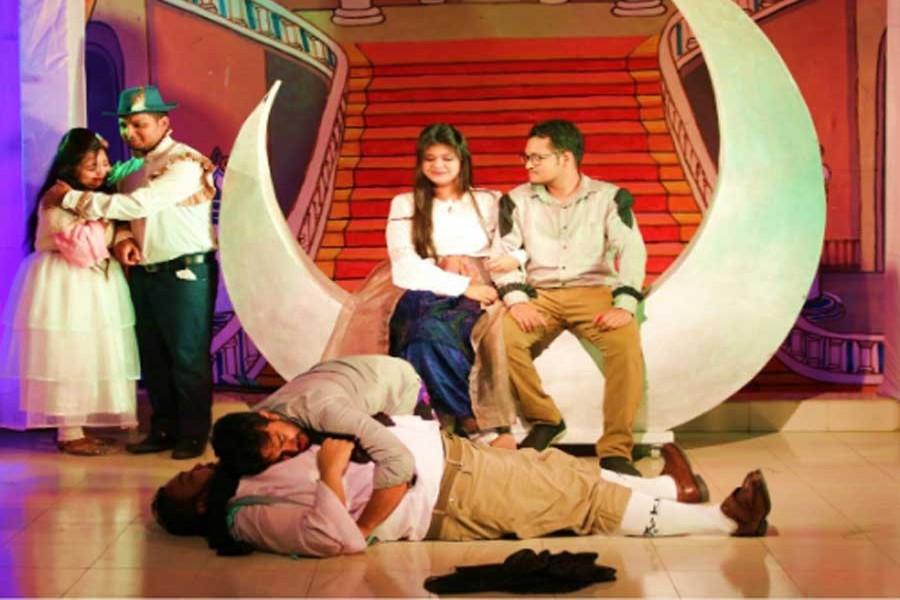 NDUB stages 'A Midsummer Night's Dream' at Shilpakala Academy