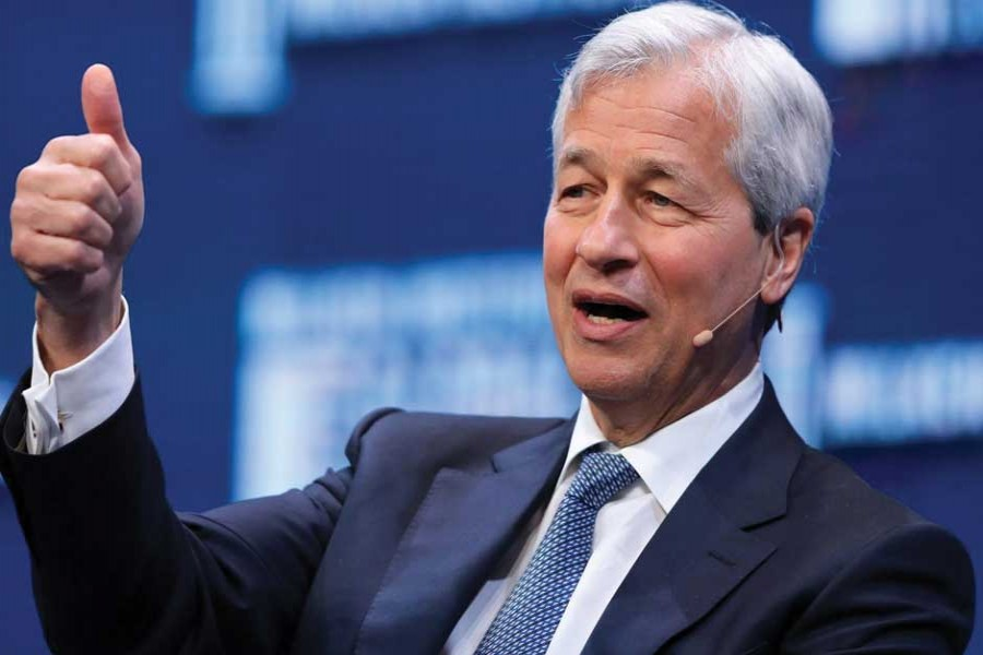 Jamie Dimon, the CEO and chairman of JPMorgan Chase, is  chairman of the Business Roundtable: He is reported to have said that he felt like Thomas Jefferson drafting the Declaration of Independence