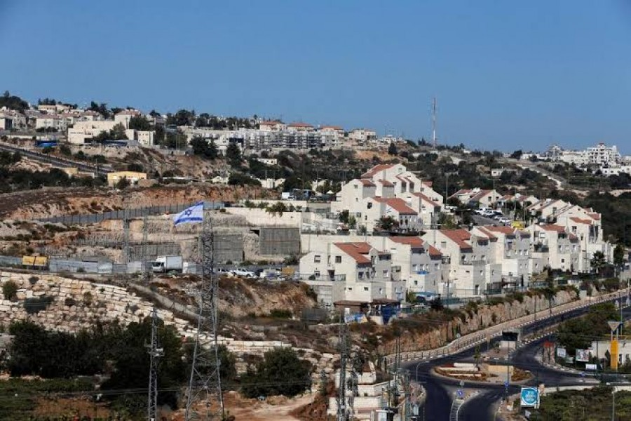 A general view shows the Jewish settlement of Kiryat Arba in Hebron, in the occupied West Bank, September 11, 2018. Reuters/File Photo