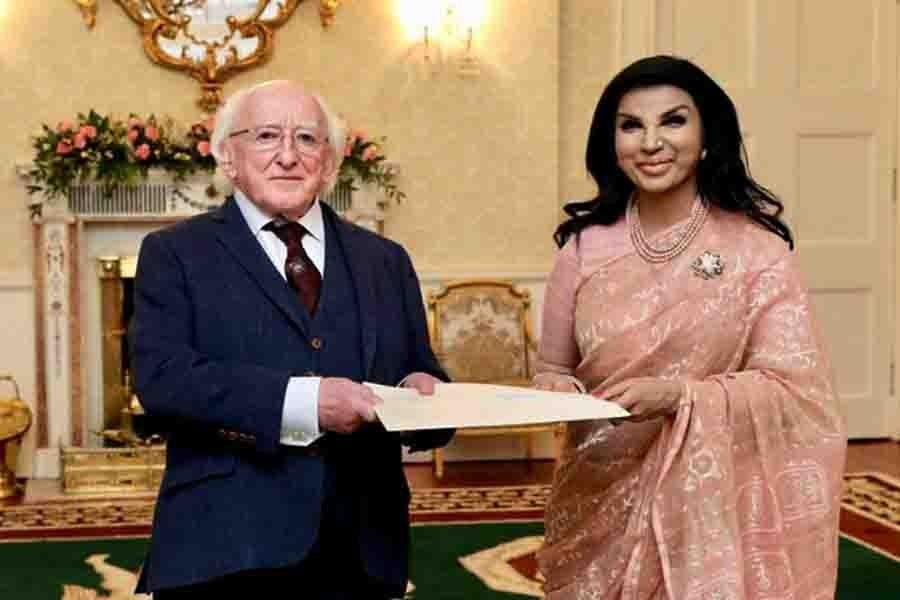 Tasneem invites Irish President to open embassy in Dhaka