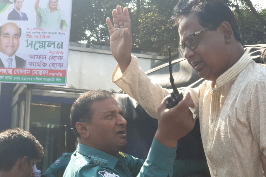 BNP's Training Affairs Secretary ABM Mosharraf Hossain