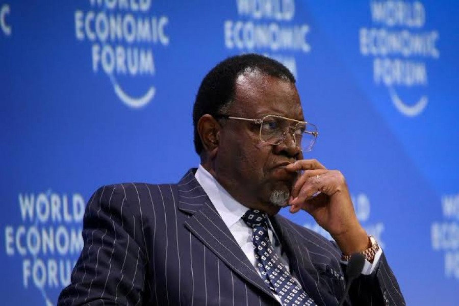 Namibia's incumbent President Hage Geingob - Reuters file photo
