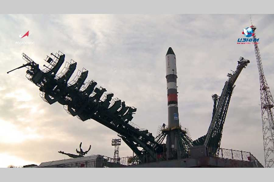 Russia sends cargo ship to International Space Station