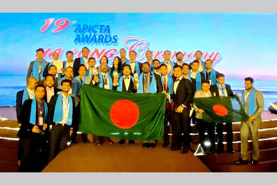BASIS gives reception to APICTA Awards winners from Bangladesh