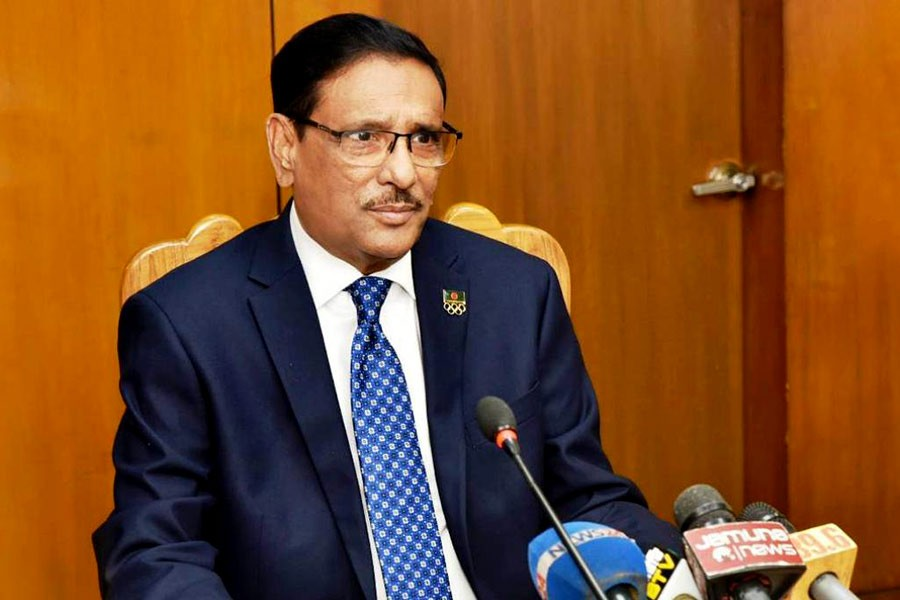 BNP to face Muslim League's fate for leadership crisis: Obaidul Quader