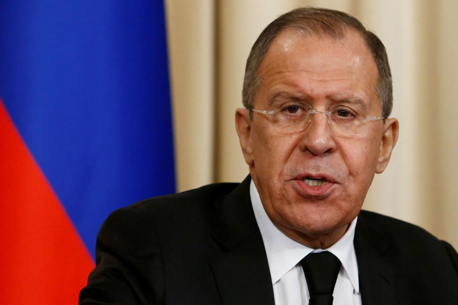 Russian foreign minister Sergei Lavrov (Reuters File Photo)