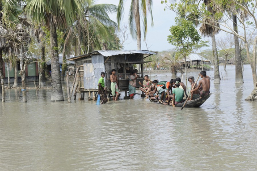 Security dimension of climate threat to Bangladesh