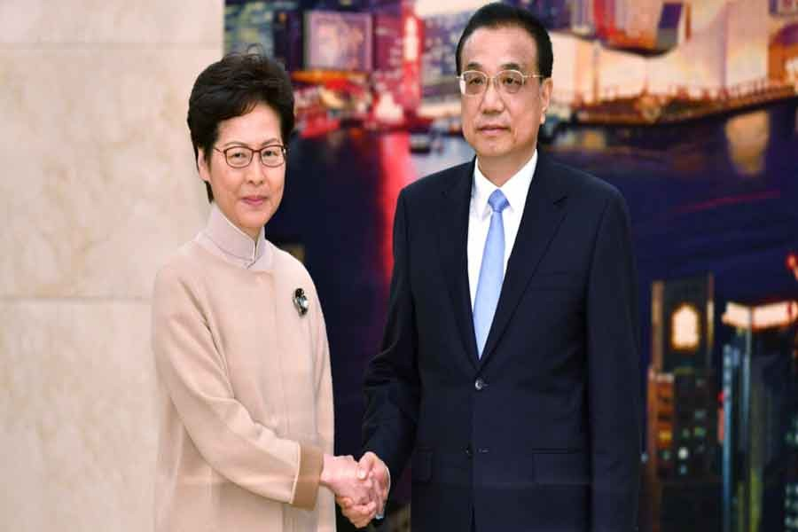 Xi reiterates his support for HK leader