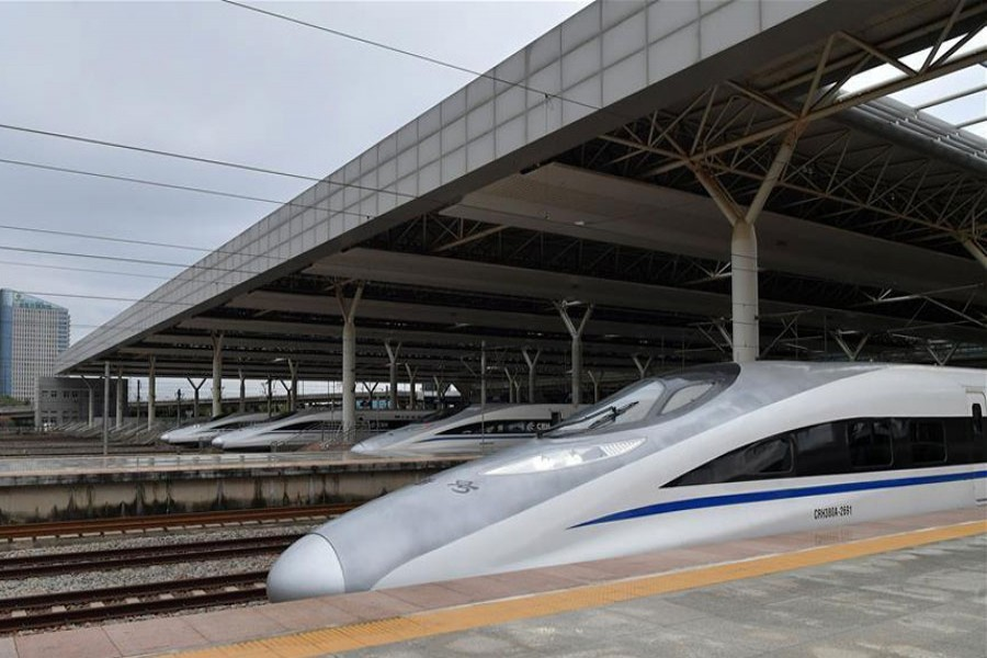 """High-speed railway to """"cradle of Chinese revolution"""" opens"""