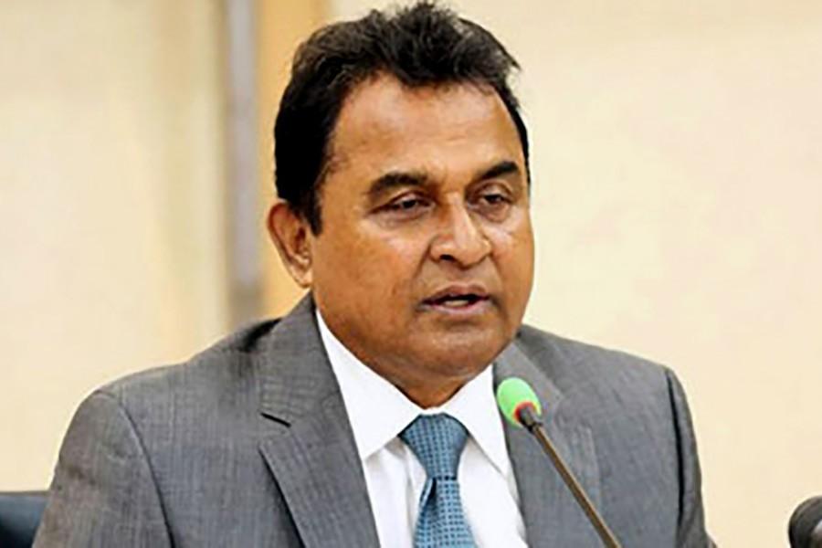 File photos shows finance minister AHM Mustafa Kamal