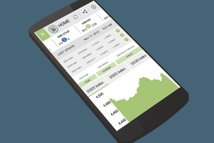 Trading through DSE mobile app up 30pc