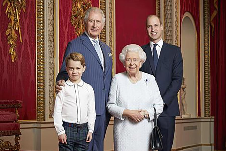 UK royal family releases photo of four generations