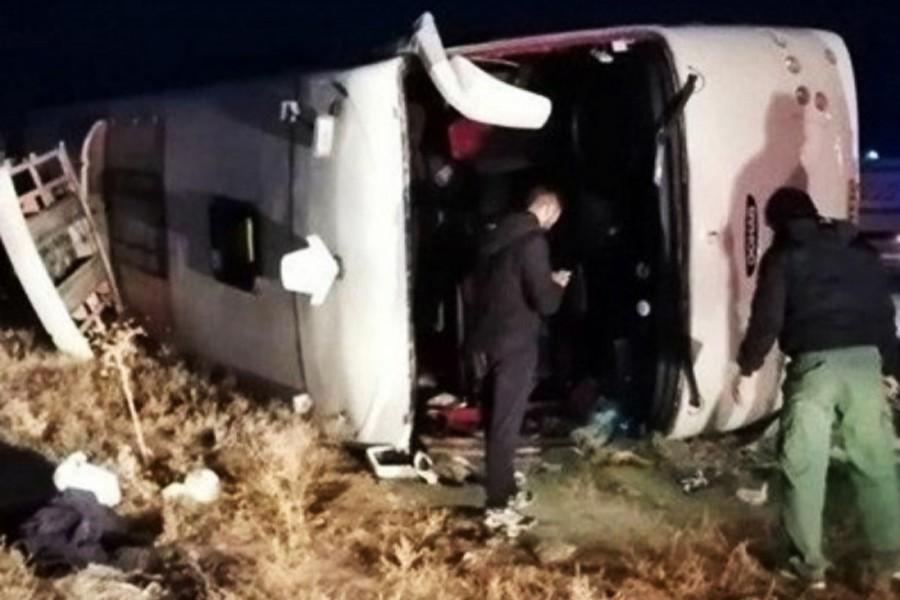 19 die, 24 injured in Iran road crash