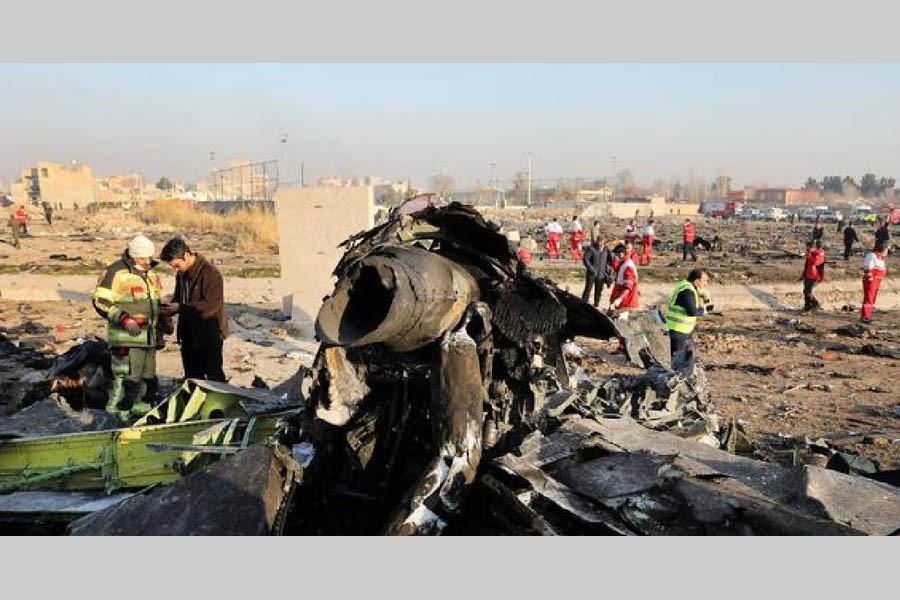 Iran rejects claims it shot down Ukrainian jet