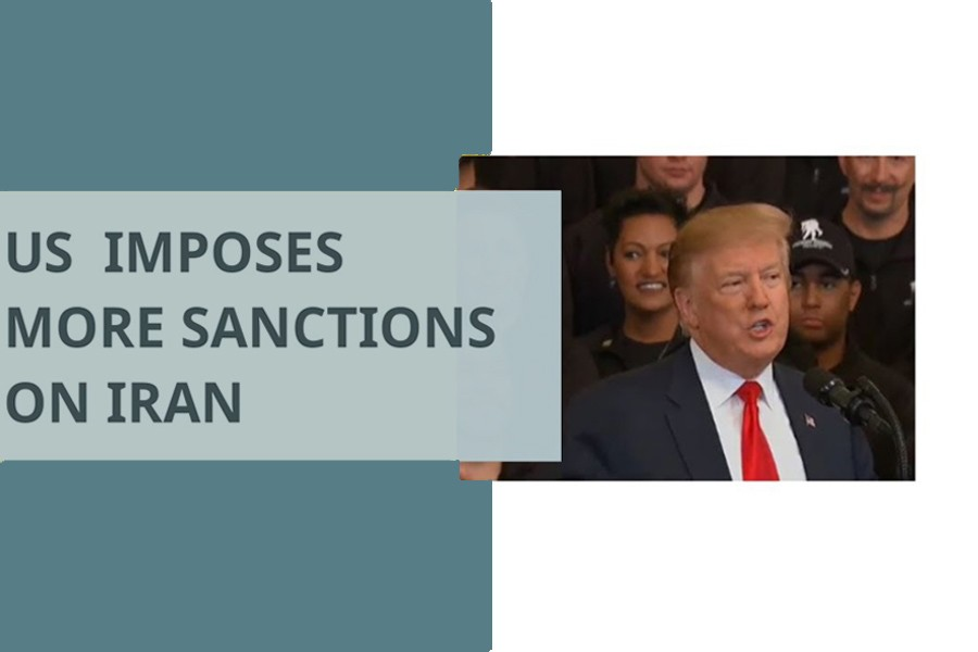 US imposes more sanctions on Iran