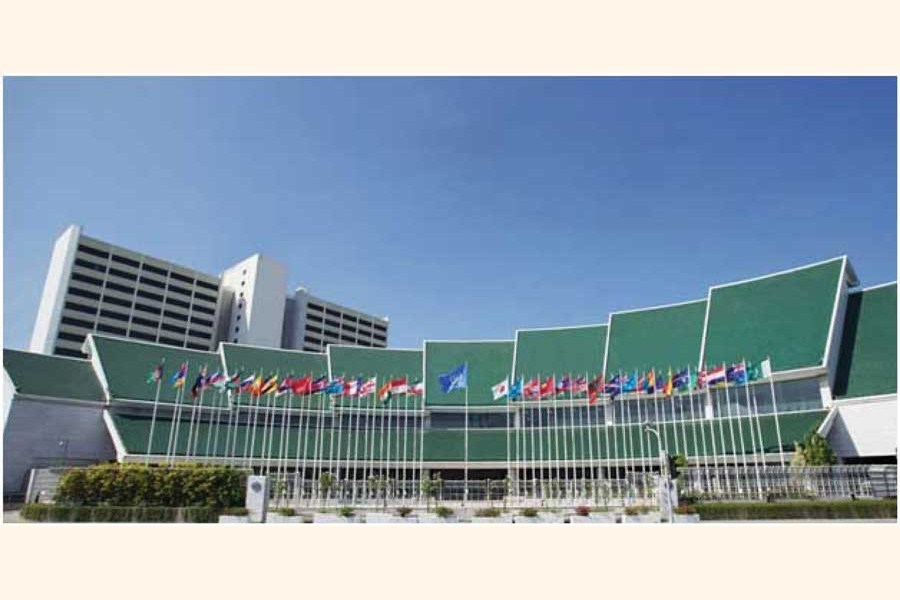 ESCAP Headquarters, Bangkok, Thailand  —Courtesy: ESCAP