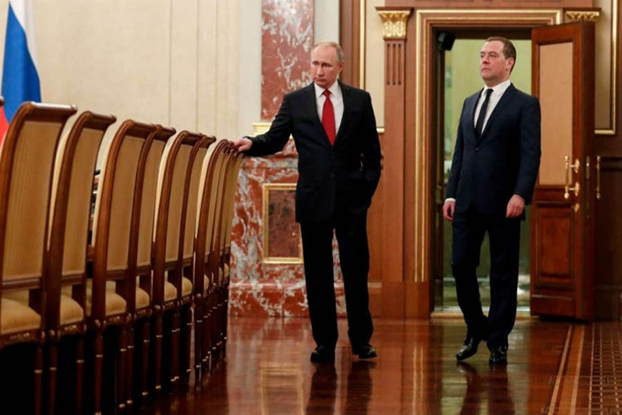 Russian PM, government resign