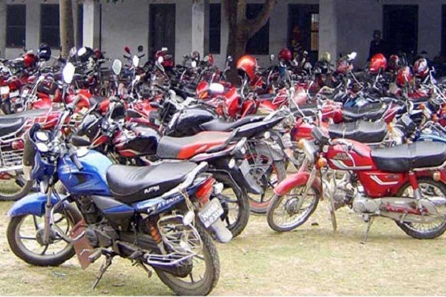 Motorcycle registration marks slight increase