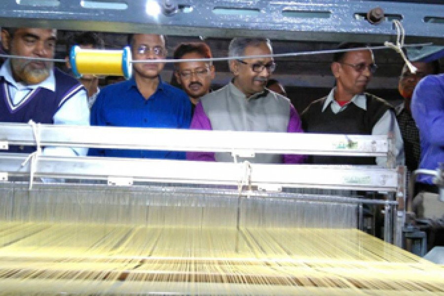 BSCIC generates 10,000 jobs in Rajshahi