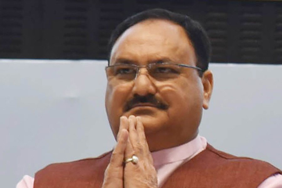 India's ruling party BJP gets new chief