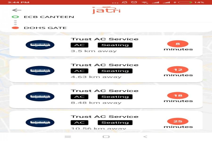 Public transportation app Jatri to make passenger experience happier