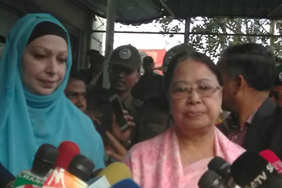 Family demands Khaleda's release on humanitarian grounds