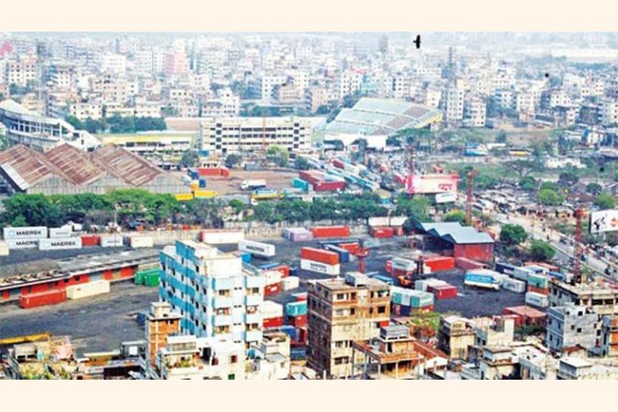 A top view of the Rajshahi city — FE Photo