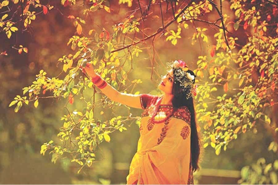 Celebrating Pahela Falgun  and Valentine's Day