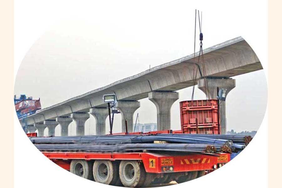 Low height of MRT-6 blocks infrastructure on its corridor