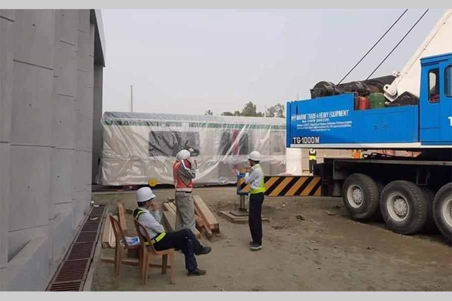 Metro rail replica coach arrives in city