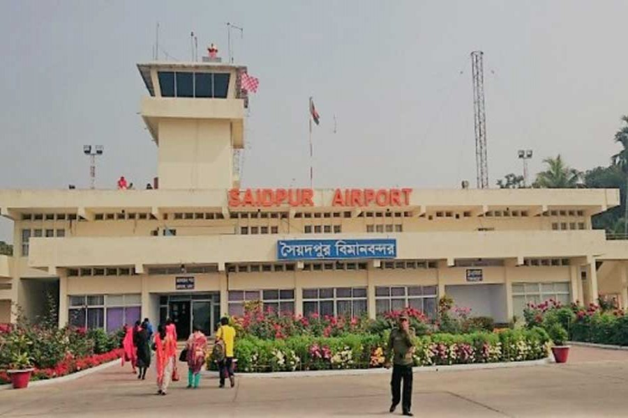 BD opens Saidpur Airport to Nepal; greater trade expected