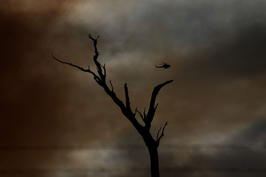 In fire-hit rural Australia, climate debate burns deep