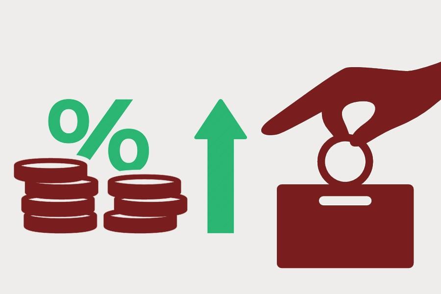 Deposit rates vis-à-vis inflation