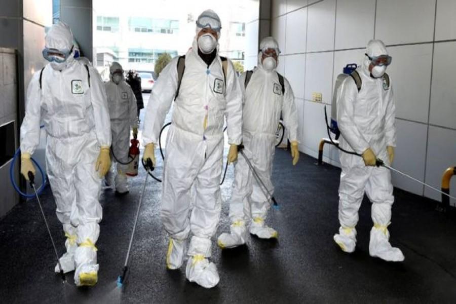 S Korea stepsup measures amid uptick in coronavirus infection