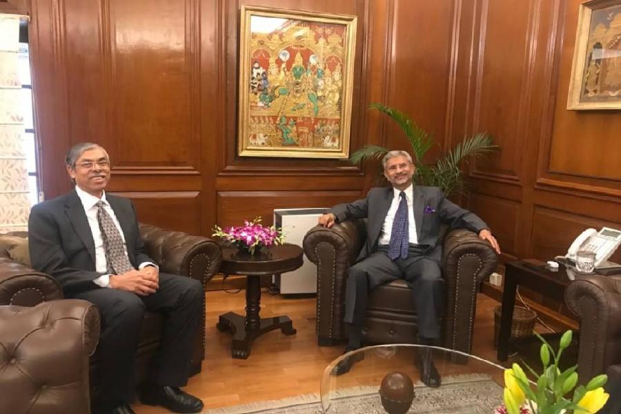 BD envoy discusses Modi's Dhaka visit with Jaishankar