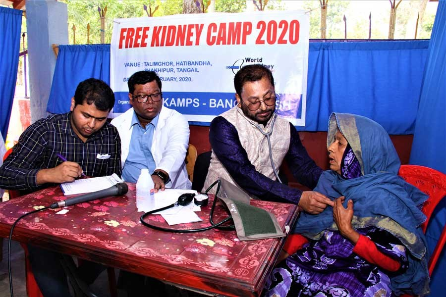 Nearly 2,500 patients get free medical treatment at KAMPS