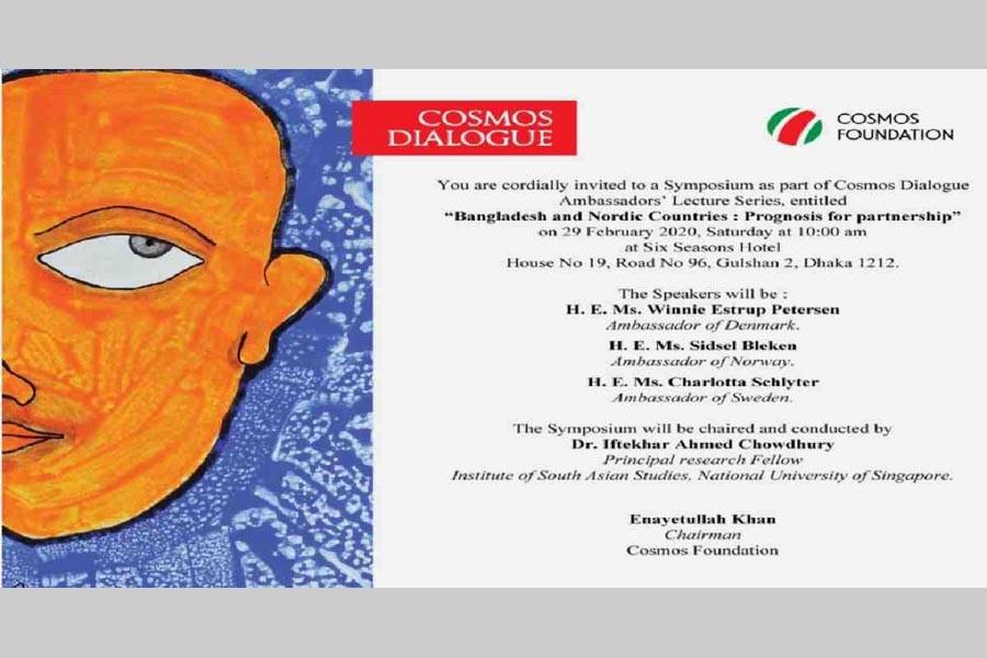 Symposium on Bangladesh's ties with Nordic countries Saturday