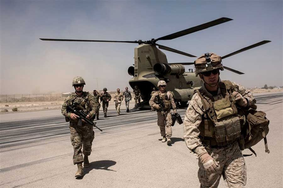 US begins military pullout  from two Afghan bases