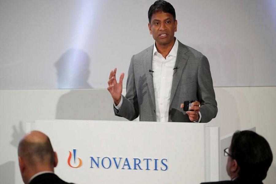 Malaria drug biggest hope against coronavirus, says Novartis CEO