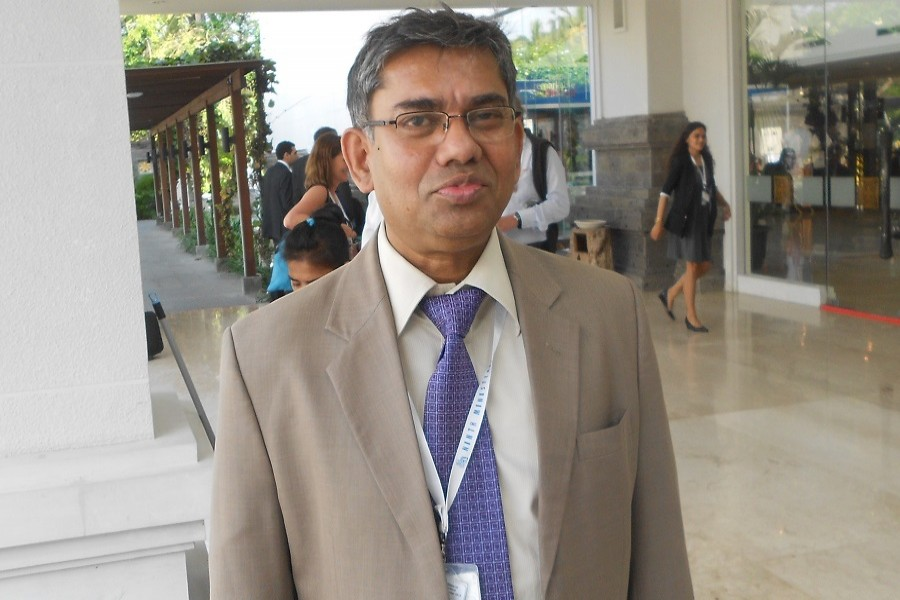 Dr Mostofa Abid Khan, a member of Bangladesh Tariff Commission (BTC), is seen in this image. — FE Photo