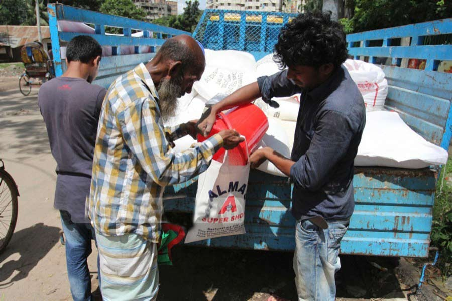 Special OMS to sell rice at Tk 10 per kg from Sunday